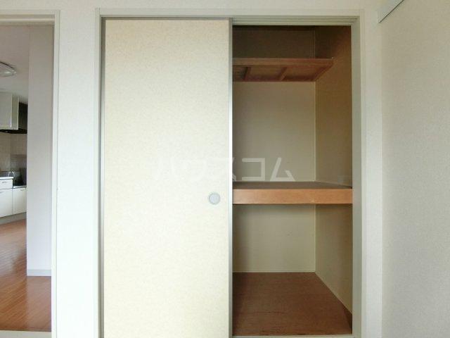 ラ プランタンB 202号室の収納