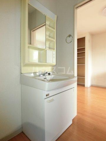 ラ プランタンB 202号室の洗面所