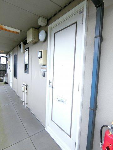 ラ プランタンB 202号室の玄関