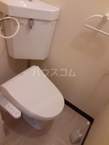パレ岩戸 402号室のトイレ