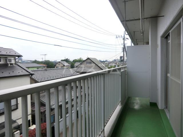 第1武笠ビル 203号室のバルコニー