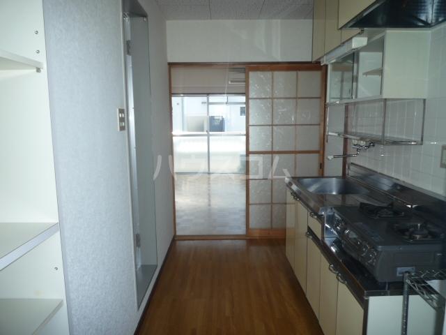 スカイアルファ井上 508号室のキッチン