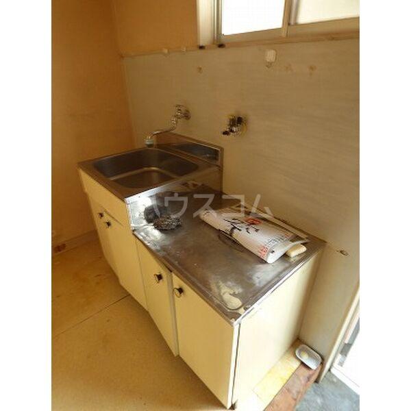 レグルス 202号室のキッチン