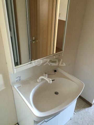 レアールマリカ 204号室の洗面所