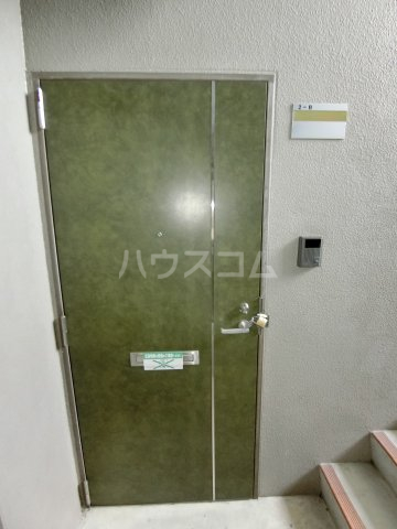 Marcher 2B号室の玄関