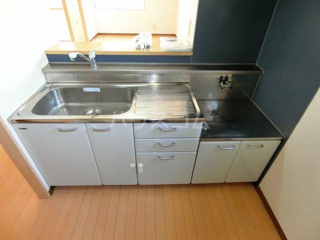 Marcher 2B号室のキッチン