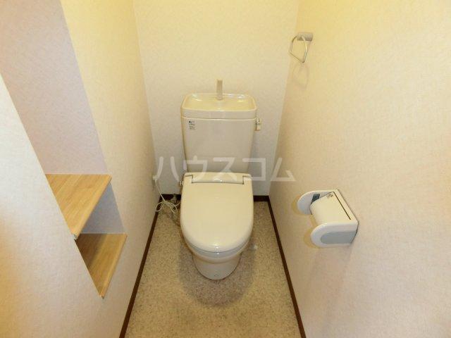 Marcher 2B号室のトイレ