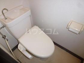 かぢやビル 201号室のトイレ
