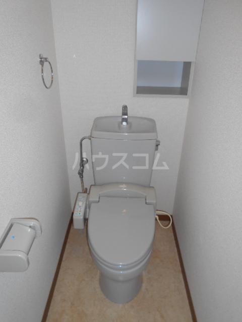 グランデール秀峰Ⅱ 101号室のトイレ
