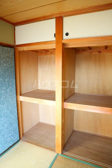 レジデンス清水 301号室の収納