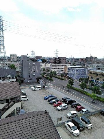 東川口ガーデンヒルズ七番館 603号室の景色