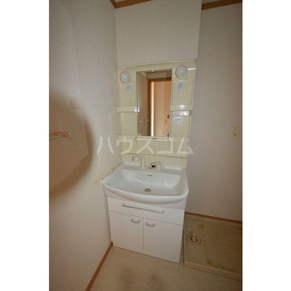 カーサ・グローリアA A102号室の洗面所