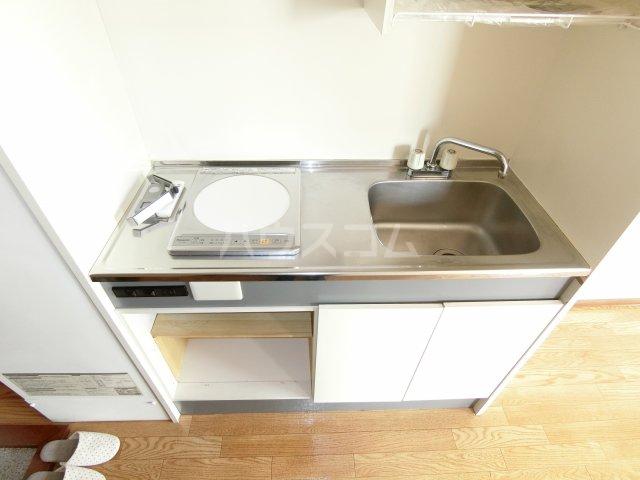 松倉ビル 3-A号室のキッチン