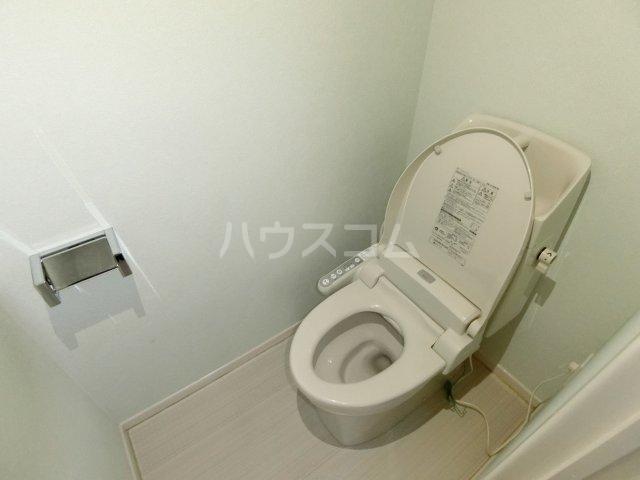 ブリリアントヒルズ西中島 201号室のトイレ