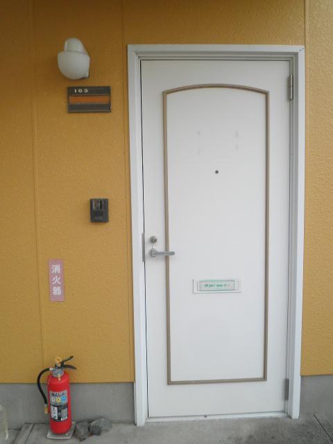 エステート阿倉川 A棟 202号室のセキュリティ