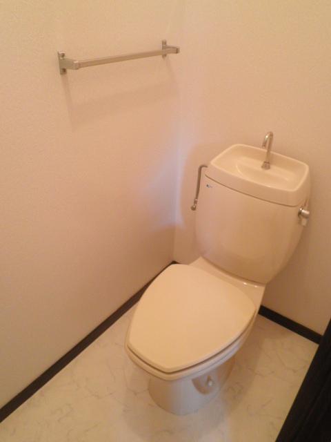 エステート阿倉川 A棟 202号室のトイレ