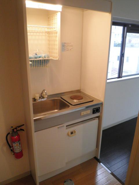 鮎マンション 205号室のキッチン