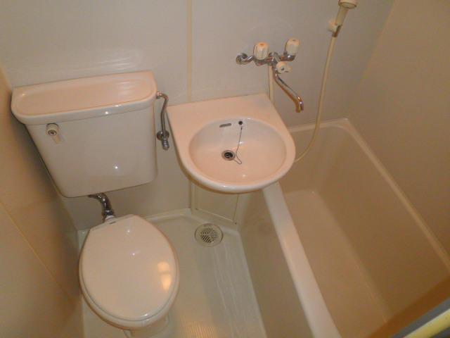 鮎マンション 205号室の風呂
