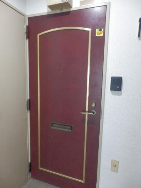 鮎マンション 205号室の玄関