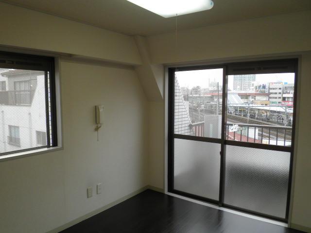 鮎マンション 205号室のベッドルーム