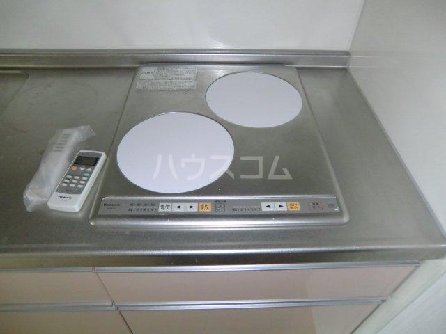 ガノス A205号室のキッチン
