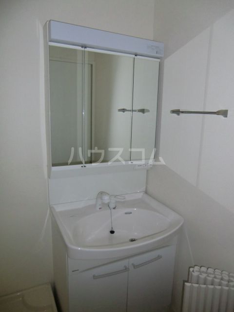 ガノス A205号室の洗面所