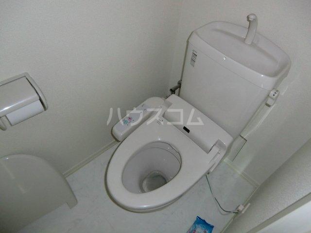 ガノス A205号室のトイレ