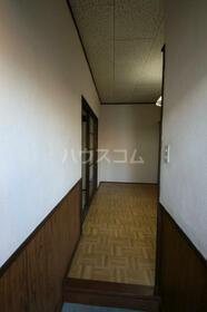 さつき荘 5号室の玄関