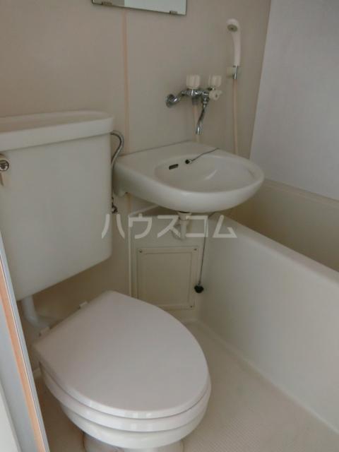 ニュースパークル 3R号室のトイレ