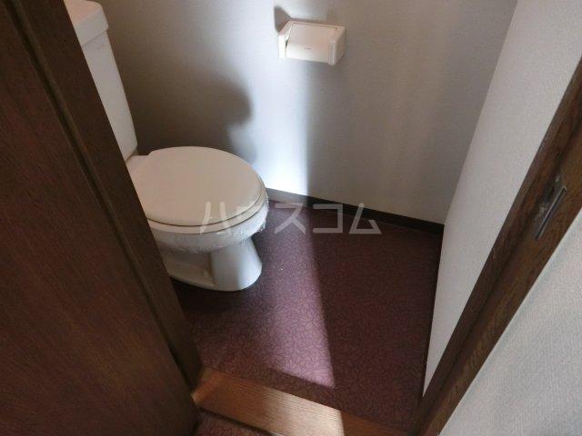 コンフォート楠 107号室のトイレ
