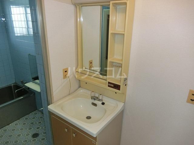 糸与ビル 206号室の洗面所