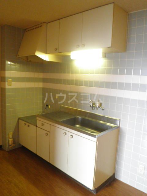 ベレーザ 406号室のキッチン