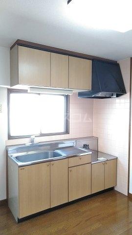 メゾンド・パーシモン 404号室のキッチン
