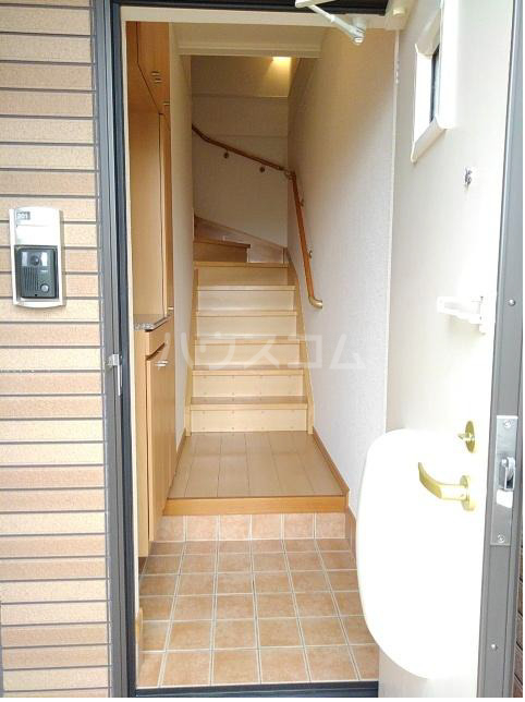 サンリット・レジデンスB 02030号室の玄関