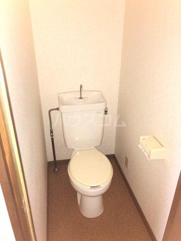 Exビル 302号室のトイレ