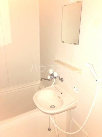 Exビル 302号室の洗面所