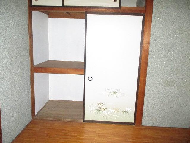葵荘 203号室の収納
