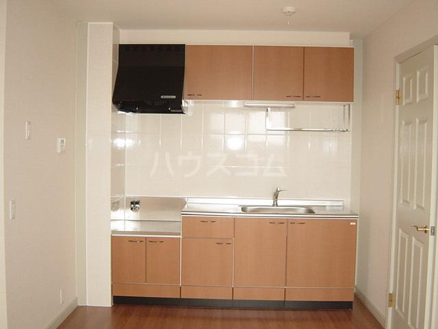 エル・ガーデンB棟 202号室のキッチン