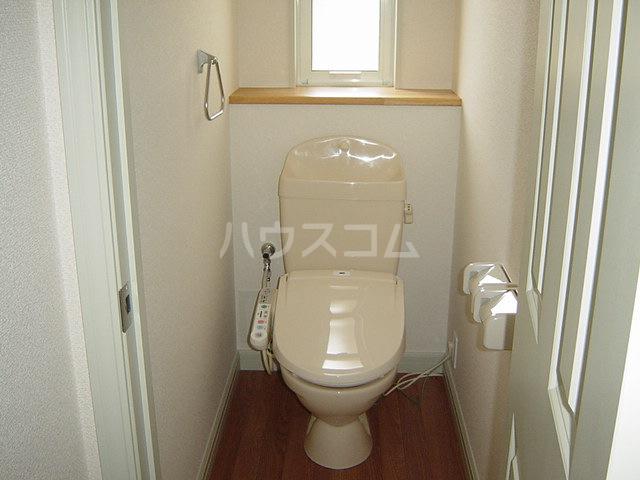 エル・ガーデンB棟 202号室のトイレ