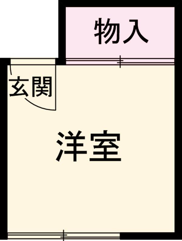 山田アパート 1号室の間取り