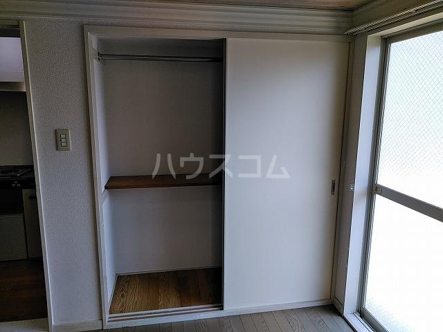 レオパレス植田第3 102号室の収納