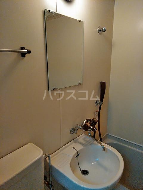 レオパレス植田第3 102号室の洗面所