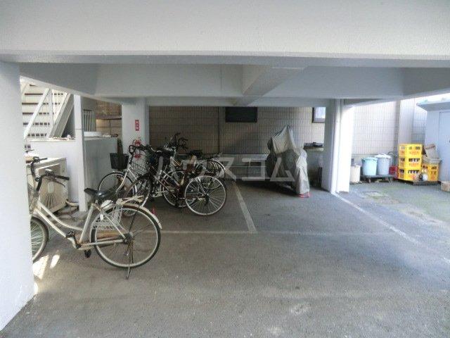 fメゾン堀田 201号室の駐車場