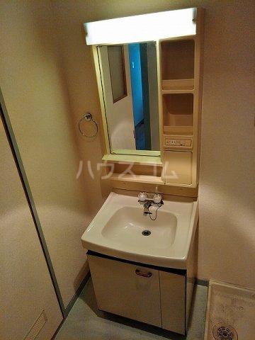 アイカピア植田 105号室の洗面所