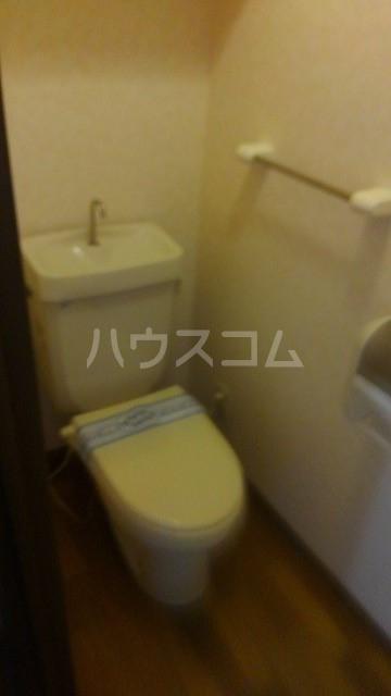 コーポトマト D号室のトイレ
