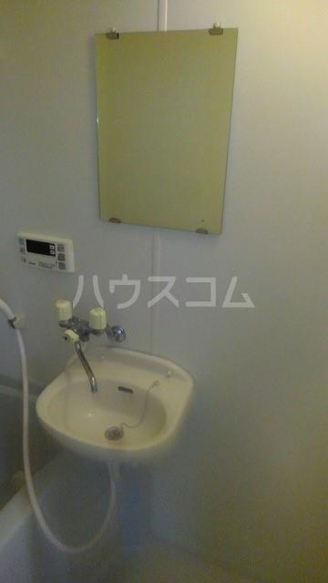 コーポトマト D号室の洗面所