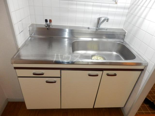 コスモハイツ極楽 101号室のキッチン