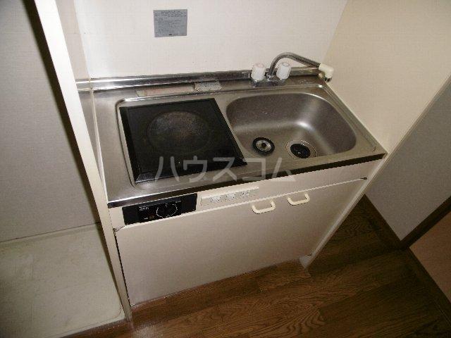 カーサ川並 505号室のキッチン
