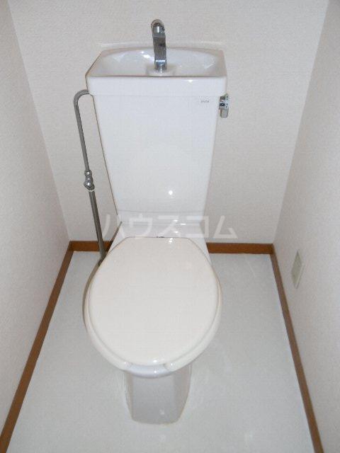 カーサ川並 505号室のトイレ