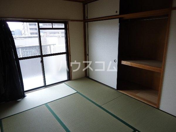 リバーサイド京命 4B号室の収納